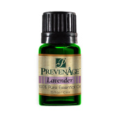 Aromatherapy Prevenage French Lavender Essential Oil - Premium Quality - Professional and Therapeutic Grade - 100% Pure and Natural - 10 mL