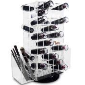 Ikee Design Acrylic Rotating Makeup Organiser Lipstick Makeup Holder Stand 27cm W x 14cm D x 31cm H