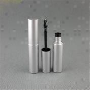 TBWIGA 1Pcs/Lot Silver Tube & Black Colour Makeup Mascara Volume Express Waterproof Cosmetics Fashion Dense Eyebrow Mascara