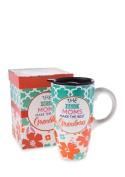Home Accents 590ml Grandma Latte Mug Gift Set