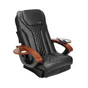 Shiatsulogic Pedicure Chair Cushion COVER NEW BLACK Nail Salon Pedicure Furniture