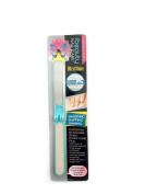 iBeauty Nail Care File & Buffer for Ultra Shining Buffing Smoothing Patented Honey Comb Stainless Steel Blue Colour