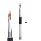 Alonea 1 PCS Nail Art Dotting Manicure Painting Drawing Polish Brush Pen Tool