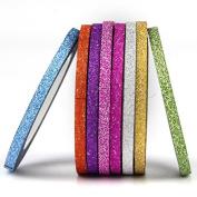 8pcs/lot 3mm Scrub Nail Striping Tape Line DIY Nail Supply Manicure Tools Women Nail Art Stickers Decals