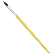 Beauties Factory Nail Art Tools Acrylic Brush (No.10) - wood x 1