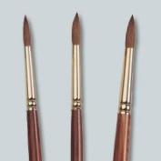 Medicool Kolinsky Acrylic Sable Round Nail Brush - Size 12