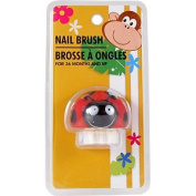 Lady Bug Nail Brush - For 36 Months & Up, 1 pc,