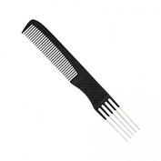 Salonchic 8 Dual Purpose Carbon Comb High Heat Resistant