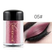 Smoky Eyeshadow,vmree Waterproof Pearl Metallic Eye Shadow Palette