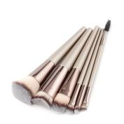 Quartly New New 6Pcs Pencil Foundation Eye shadow Makeup Brushes Eyeliner Brush Sets Beauty Tools Kits