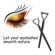 Nibito Eyelash Comb Lash Separator Mascara Lift Curl Metal Brush Beauty Makeup Tool