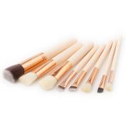 Quartly New 8Pcs Pencil Foundation Eye shadow Makeup Brushes Eyeliner Brush Sets Beauty Tools Kits