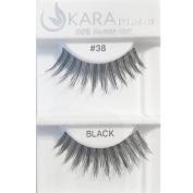 Kara Beauty 100% Human Hair Eyelashes - 38