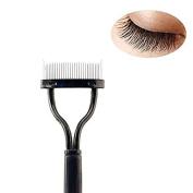 MSQ Eyelash Comb Eyebrow Brush Cosmetic Brush Arc designed Mascara Applicator Tool