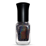 Promisen 6ml Nail Effect Nail Powder No Polish Foil Nails Art Glitter Silver