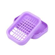 Soap Holder,Faber3 Soap Dish Shower 8 Colours Brand New Travel Plastic Soap Dish Box Case Holder