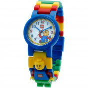 LEGO Classic Kids' Minifigure Interchangeable Links Watch
