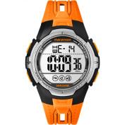 Marathon by Timex Men's Digital Full-Size Orange/Black Watch, Resin Strap