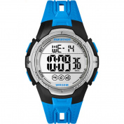 Marathon by Timex Men's Digital Full-Size Blue/Black Watch, Resin Strap