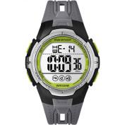 Marathon by Timex Men's Digital Full-Size Black/Grey/Green Watch, Resin Strap