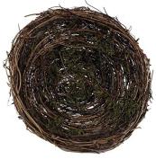 20cm Twig/moss Bird Nest