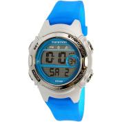Timex Women's Marathon TW5K96900 Blue Rubber Analogue Quartz Sport Watch
