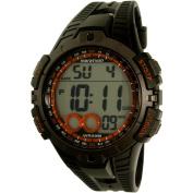 Timex Men's Marathon T5K801 Black Rubber Analogue Quartz Sport Watch