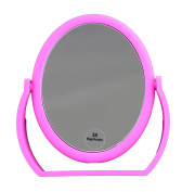 Hot Tools Rubberized Oval Mirror, 1X and 5X