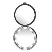 Miss Sweet Lighted Compact Mirror for Purse Pocket Mirror True image & 10X magnification