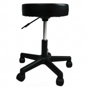 Artist Hand Height Adjustable Swivel Stool Hydraulic Rolling Swivel Stool on Wheels Portable Massage Cushion Saddle Stool Chair Tattoo Salon Spa Stool