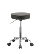 Duhome 410 Adjustable Height Swivel Stool with Wheels