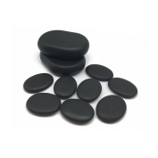 Lifetop 10pcs /lot Massage Stones Massage Lava Natural Therapy Stone Set Hot Spa Rock Basalt Stone