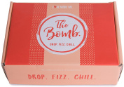Love Made Me...The Bomb! Drop. Fizz. Chill. 6 Extra Large Fizzy Bath Bombs. Plant-Based Essential Oils. Made in the USA.