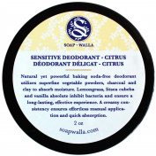 Soapwalla - Organic / Vegan Sensitive Skin Deodorant Cream