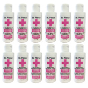Dr Pierce Anti Bacterial Body Piercing Cleanser 120ml 12 pc Set