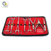 G.S 8 PC'S PRO PIERCING TOOL SET BODY PIERCING INSTRUMENTS STAINLESS STEEL BEST QUALITY
