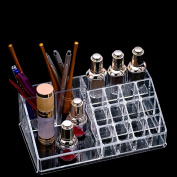 HuangHM Professional Tattoo Pen Ink Cup Holder for Tattoo Semi Permanent Makeup Cosmetic Artist 15Holes Glue Pigment Adhesive Cap Stand Oval Round Oblong Holder Shelf Microblade Tool