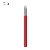 Round 9 Microblading Shading Needle 100pcs R9 Liner Tattoo Needles Supplies - QMYBrow