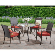 Better Homes and Gardens Outdoor Dining Set, Red