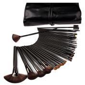 32 PCS Professional Face Makeup Brushes Set Tools Cosmetic Brush Suit