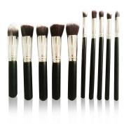 Makeup Brushes 10pcs Premium Makeup Brush Set