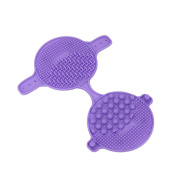 Brush Cleaning Makeup Washing Brush Silica Clean Pad Glove Scrubber Board New Cosmetic Clean Tools by Staron