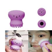 Hongxin Beauty Tool Exfoliating Jellyfish Silicon Brush / Pore Brush