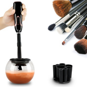 Makeup Brush Cleaner - Clean and Dry All Makeup Brushes in Seconds- Professional Premium Washing Cosmetic Brushes Cleaner Tool