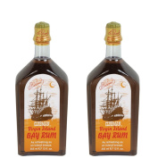 CLUBMAN PINAUD Virgin Island Bay Rum Men After Shave Cologne 350ml 2 x BB-402100