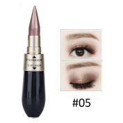Sympath Double-end Waterproof Liquid EyeShadow Eyeliner Combination Easy To Wear Makeup