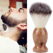 sumanee Men Shaving Bear Brush Best Badger Hair Shave Wood Handle Razor Barber Tool HS