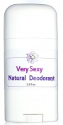 Very Sexy Natural Deodorant - Classy Mysterious Playful Scent - Natural Odour Control Blend with Absorbent Clays and Powders