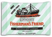 Fisherman's Friend Lozenges Mint Sugar-Free with Sweeteners 25g by Fishermans Friend