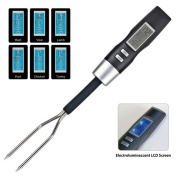 Imperial Home Electronic Barbecue Fork With Thermometer